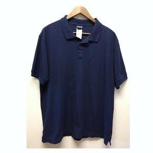 Patagonia | Navy Blue Basic Logo Polo Shirt EUC